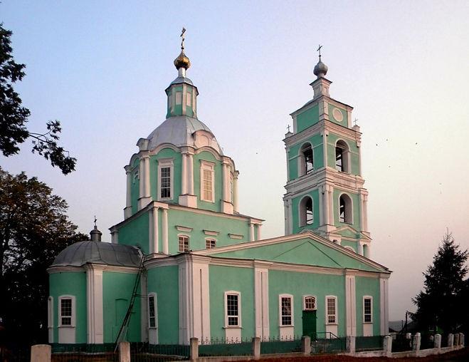 Никольский храм в сл. Михайловке. Фото Илги Гондаревой.