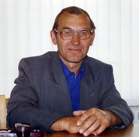 Гудов Иван Васильевич, педагог, лучший шахматист Железногорского района. Фото 2005 г.