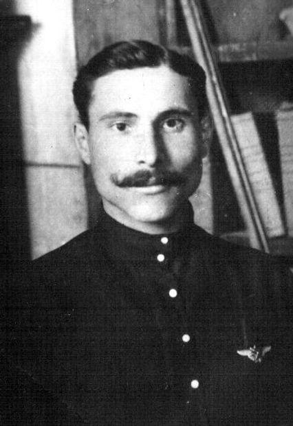 Мошкин Василий Александрович, агент Орловского уголовного розыска. Фото 1923 г.
