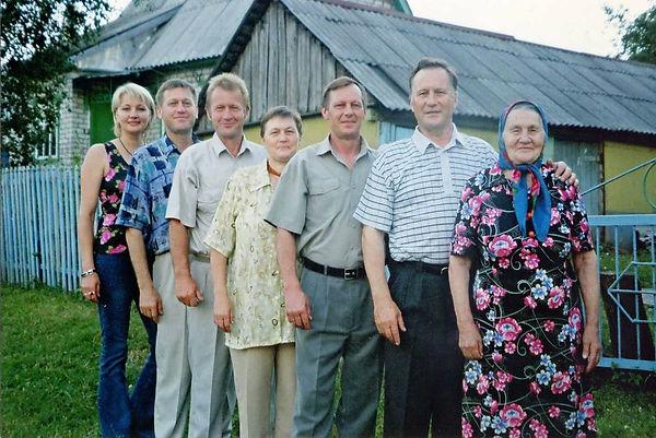 Семья Гализиных слева направо - Екатерин