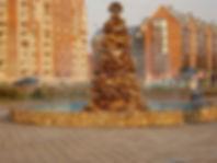 Фонтан в сквере Воинской Славы