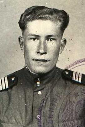 Марахин Николай Федорович, майор, участник ВОВ (фото https://pamyat-naroda.ru)