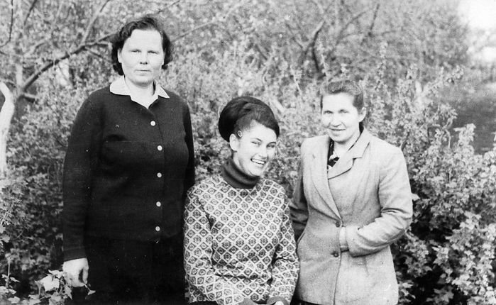 Жители села Троицкое. Фото конца 1960-х гг.