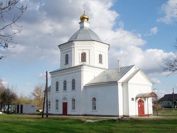 Покровский храм в селе Жидеевка.