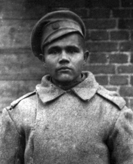 Рябых Андрей Сергеевич, уроженец с.Радубеж, участник Первой Мировой. Фото 1916 г.
