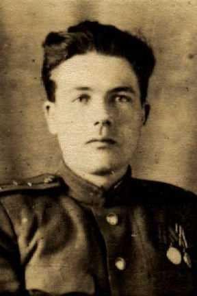 Рыжиков Андрей Павлович, майор, участник ВОВ, (фото https://pamyat-naroda.ru)