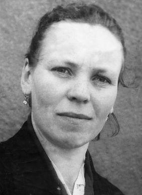 Рудская Алевтина Алексеевна,  доярка колхоза им.Ленина,  кавалер ордена Славы