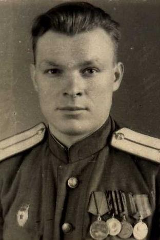 Марахин Иван Сергеевич,  майор, участник ВОВ (фото https://pamyat-naroda.ru)