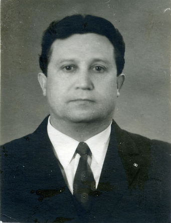 Анохин Владимир Иванович, ветеран ВОВ, зав. поликлинокой УВД Краснодарского края