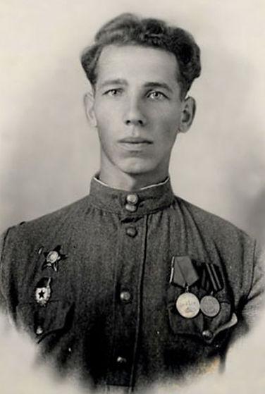 Старший сержант Козин Николай Федорович  в военное время