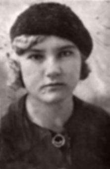 Зуева Екатерина Михайловна. Фото 1930-х гг.