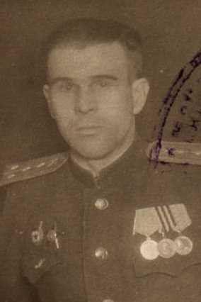 Галков Михаил Григорьевич, майор, участник ВОВ (фото https://pamyat-naroda.ru)