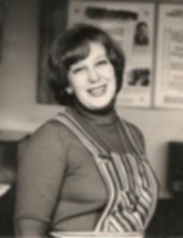 Наумова Людмила Яковлевна, первый директор музея Трудовой славы МГОКа.  Фото 1970-х гг.
