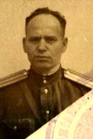 Силичев Павел Сергеевич, майор, участник ВОВ (фото https://pamyat-naroda.ru)