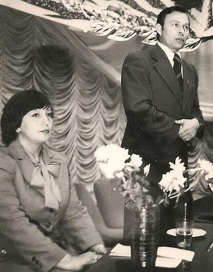 Наумова Л.Я. и Исаков П.Н. Фото 1980-х гг.