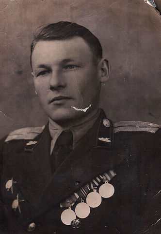 Ягубов Константин Егорович, участник ВОВ, кавалер двух орденов Красной Звезды