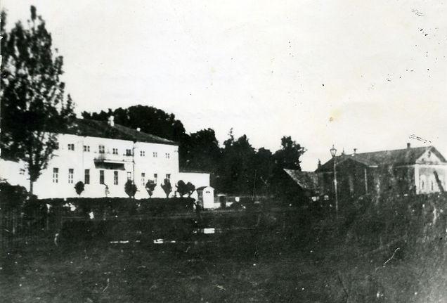 Усадьба помещиков Анненковых в Карманово. Фото начала ХХ века