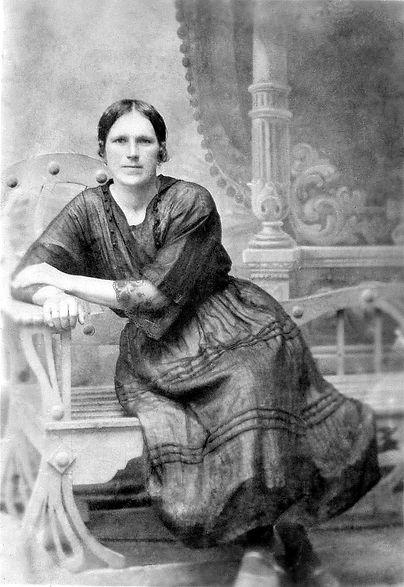 Василевская Ефросинья Михайловна, дочь торговца. Фото 1915 г.