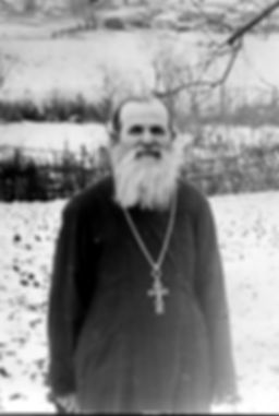 Священник с. Андросово Горбулин Иван Григорьевич. Фото 1960-х гг.