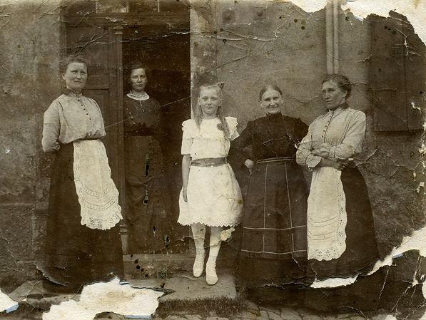 Немецкая семья, в которой жил в плену Парамон Лаврентьевич Морозов