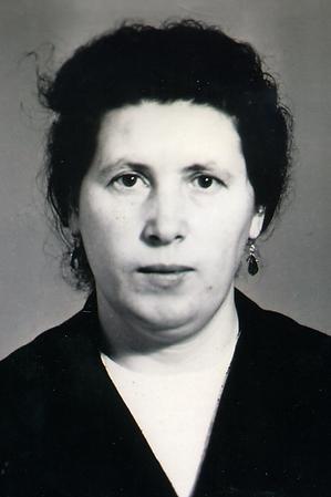 Рябикова Валентина Семеновна - первая за
