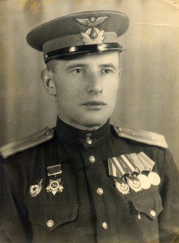 Галкин Иван Васильевич, ветеран ВОВ,  участник Курской битвы