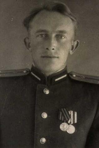 Баранов Василий Иванович, майор, участник ВОВ (фото https://pamyat-naroda.ru)