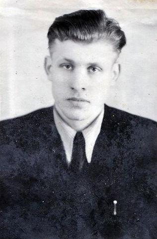 Евстратов Николай Александрович, руководитель в производственной сфере. Фото 1956 г.