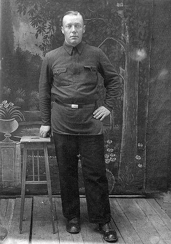 Корнеев Илья Никитич, сельский активист.