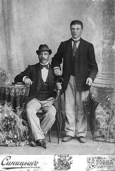 Братья Бондаревы, михайловские торговцы. Фото из фондов Железногорского краеведческого музея