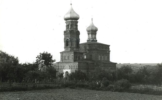 Казанский храм. Фото 1970-х гг.