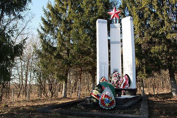 Памятник воинам-освободителям в д.Клишин
