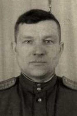 Баранов Борис Николаевич, подполковник, участник ВОВ (фото https://pamyat-naroda.ru)