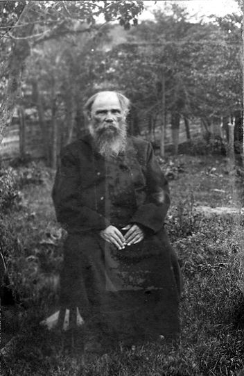 Михайловский купец Алексей Шарапов, 1905