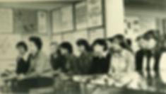 Посетители музея Трудовой славы МГОКа. Фото 1980 г.