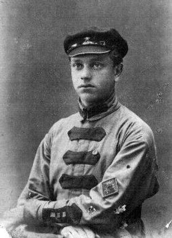 Лев Николаевич Левашов, один из заложников бобровских мятежников. Фото 1920 г.