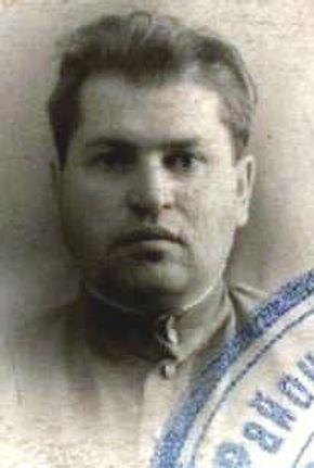 Сотников Михаил Григорьевич, подполковник, участник ВОВ (фото https://pamyat-naroda.ru)