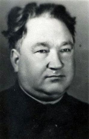 Широченков Иван Федорович, директор  Копенской школы. Фото 1974 г.