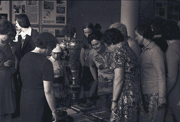 Первые посетители музея Трудовой славы МГОКа