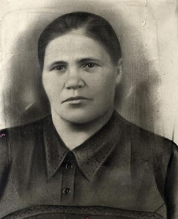Ковалева Екатерина Венедиктовна, 1883 г.р., уроженка с.Жидеевки