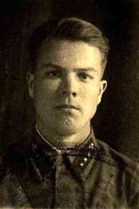 Чернов Илья Сергеевич, майор, участник ВОВ (фото https://pamyat-naroda.ru)