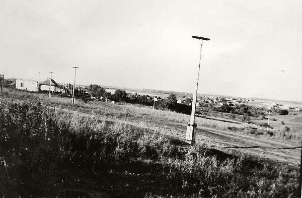Окрестности деревни Андрееавки. Фото 1970-х гг.