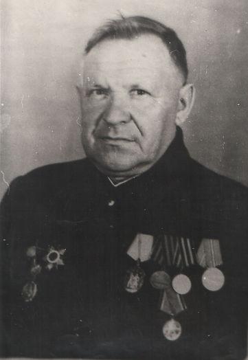 Курских Петр Митрофанович, учитель Михайловской средней школы. Фото 1970-х гг.