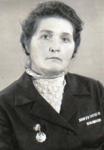 Галкина Мария Кондратьевна, участница ВОВ