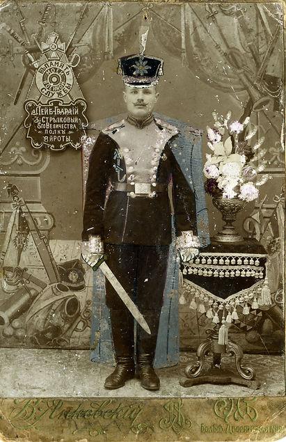 Морозов Парамон Лаврентьевич, уроженец с.Трояново.