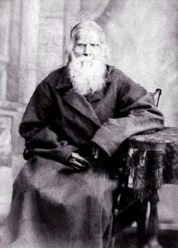 Амфитеатров Федор Васильевич (1819-1886), священник Никольской церкви с. Гнань.  Фото 1886 г.