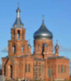 Восстановленный храм Параскевы Пятницы в селе Погорельцево. Фото 2015 г.