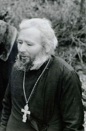 Священник Михаил Ашурков .  Фото 1990-х гг.