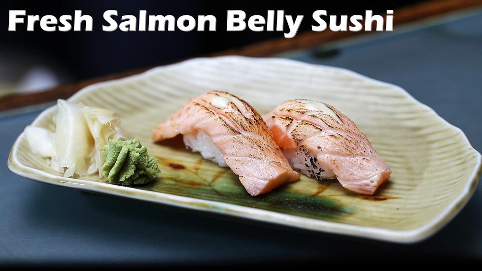Salmon Belly Sushi.JPG