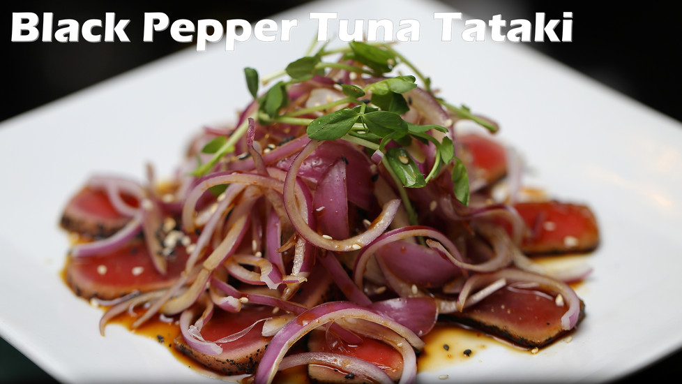 Black Pepper Tuna Tataki 01.JPG